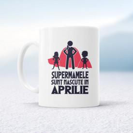 Supermamele sunt născute în aprilie
