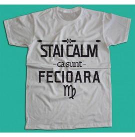 Stai calm - Fecioara [Tricou] *LICHIDARE STOC*