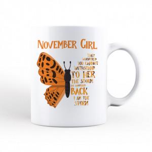 Cana November Girl [Scorpion/Săgetător]