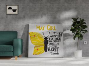 Canvas May Girl [Gemeni/Taur]