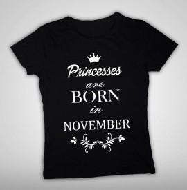 Princesses are born in...