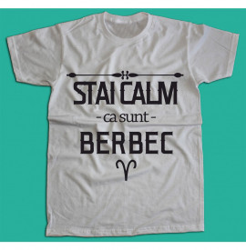 Stai calm - Berbec [Tricou] *LICHIDARE STOC*