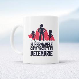 Supermamele sunt născute în decembrie