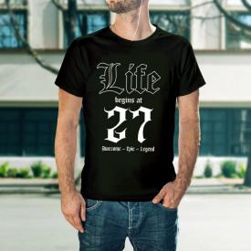 Life begins at 27 - B