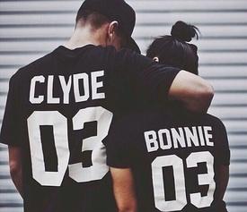 Set tricouri BONNIE & CLYDE