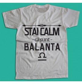 Stai calm - Balanta [Tricou] *LICHIDARE STOC*
