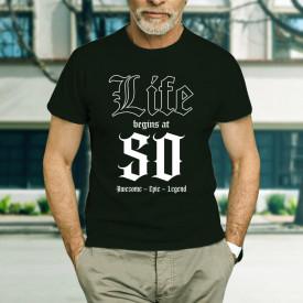 Life begins at 50 - B