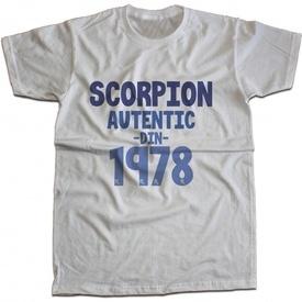 Scorpion autentic din [1978]
