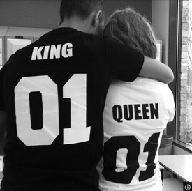 Set tricouri King & Queen