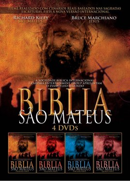 Imagens Biblia São Mateus - Primeira Parte (DVD)
