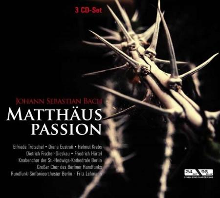 Johann Sebastian Bach: Fritz Lehmann - Matthaus Passion (3CD) images