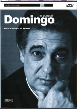 Placido Domingo - Concert In Miami - DVD images