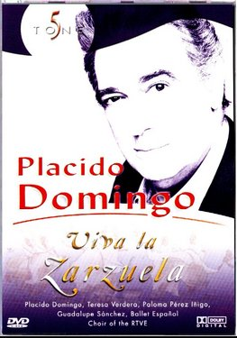 Placido Domingo - Viva La Zarzuela - DVD images
