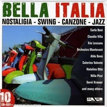 Imagens Various Artists: Bella Italia (10CD)