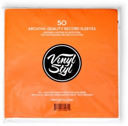 Imagens 50 bolsas de arquivo para vinil Vinyl Styl
