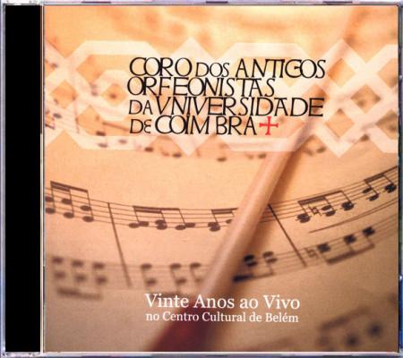 Imagens Antigos Orfeanistas da Universidade de Coimbra - 20 Anos (Ao Vivo no CCB)