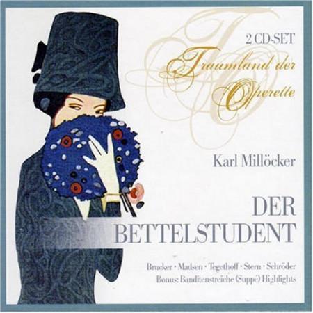 Imagens Carl Millöcker - Der Bettelstudent (2CD)