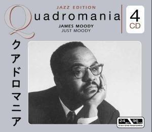 Imagens James Moody - Just Moody (4 CD)