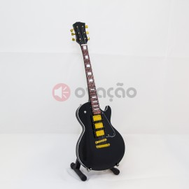 Imagens Mini-Guitarra ESP Black - James Hetfield - Metallica