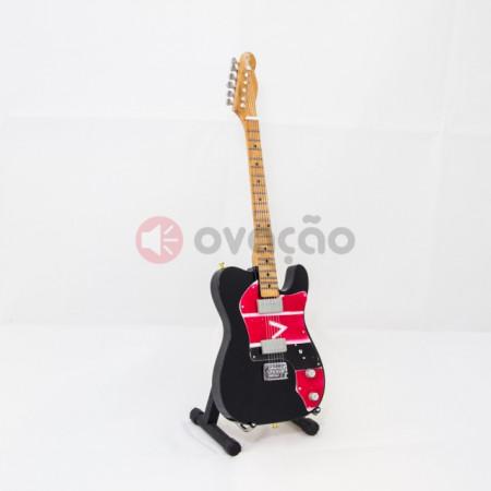 Mini-Guitarra Fender Telecaster - Viva La Vida - Coldplay imágenes