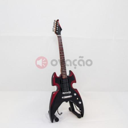 Mini-Guitarra Silverstone Guitar Broken Mirror - Paul Stanley - Kiss images