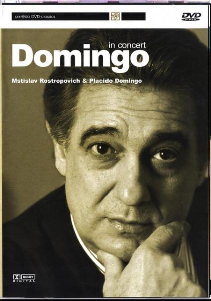 Placido Domingo & Mstislav Rostropovich - DVD images