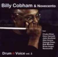 Billy Cobham & Novecento - Drum' n' Voice Vol. 3 images