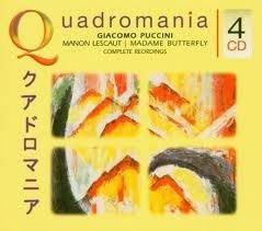 Imagens Giacomo Puccini - Manon Lescaut / Madama Butterly (4CD)