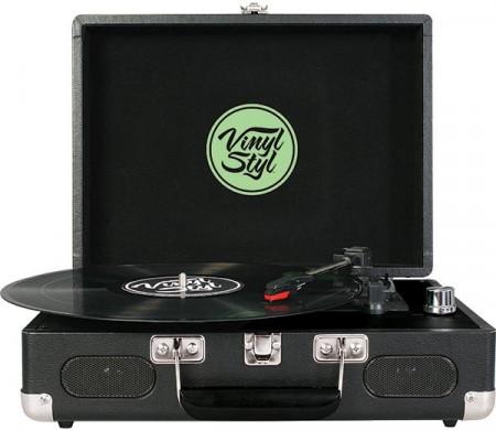 Imagens Gira Discos Vinyl Styl - Leaf