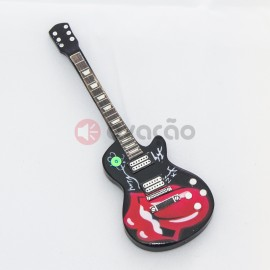 Iman Guitarra Tongue Tribute - Rolling Stones images