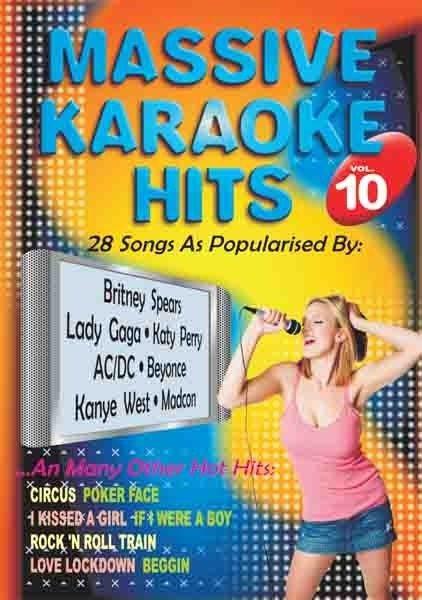 Imagens Massive Karaoke Hits 10