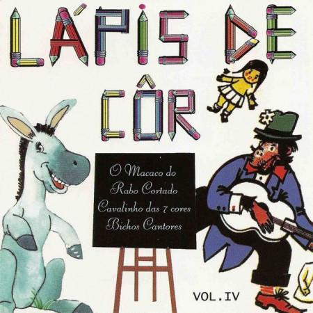 Imagens O Macaco Rabo Cortado - Col. Lápis de Côr