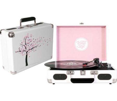 Gira Discos Vinyl Styl - Cherry Blossom images
