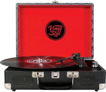 Imagens Gira Discos Vinyl Styl - Skull Design