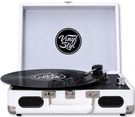 Gira Discos Vinyl Styl - White images