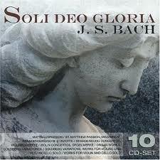 Johann Sebastian Bach - Soli Deo Gloria (10CD) imágenes