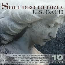 Johann Sebastian Bach - Soli Deo Gloria (10CD) images