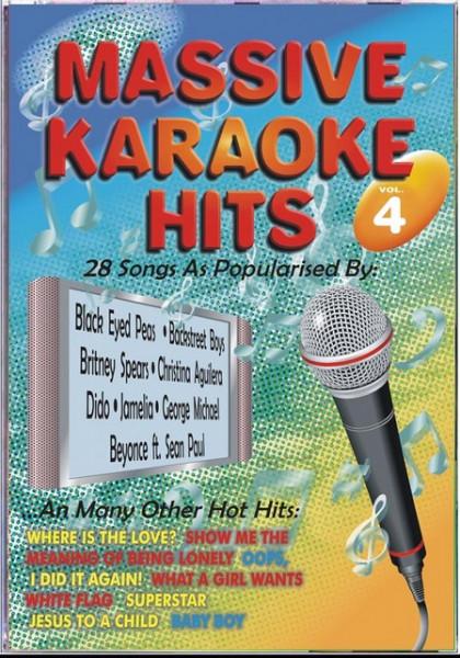 Imagens Massive Karaoke Hits 4