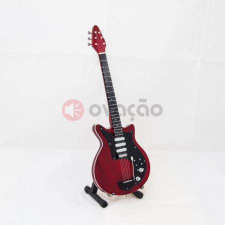 Mini-Guitarra Brian May Guitar Special Red - Queen imágenes
