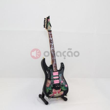 Imagens Mini-Guitarra Ibanez Neoibanez Flower Cut - Steve Vai - Frank Zappa