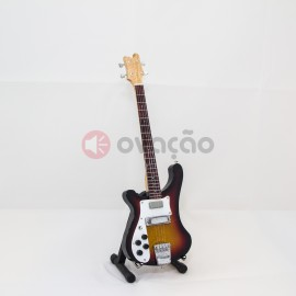 Imagens Mini-Guitarra Rickenbacker Bass - Paul MacCartney - The Beatles