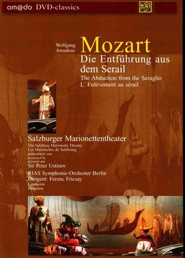 Imagens Mozart - The Abduction from the Seraglio L'Enlèvement au sérail - DVD