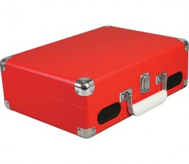 Imagens Turntable Portable - Red