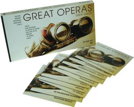 Imagens Great Operas - Great Voices (10DVD)