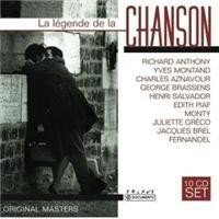 Imagens La Legende de la Chanson - Vol. 1 (10CD)