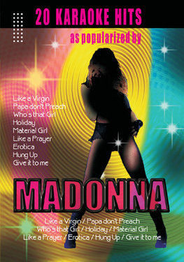 20 Hits as Popularized by Madonna - Karaoke images
