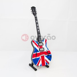 Imagens Mini-Guitarra Ephiphone Union Jack - Noel Gallagher - Oasis
