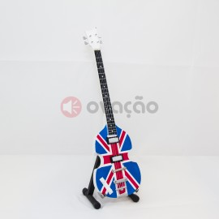 Imagens Mini-Guitarra Hofner Union Jack London 2012 - Paul MacCartney - The Beatles