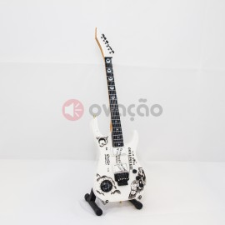 Imagens Mini-Guitarra Ibanez Ouija White - Kirk Hammet - Metallica