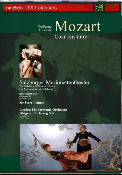 Imagens Mozart - Cosi Fan Tutte - DVD